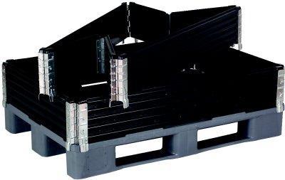 sax lager paletten beh lter kunststoff palette und aufsatz aufsatzrahmen faltbox aufsatzrahmen. Black Bedroom Furniture Sets. Home Design Ideas